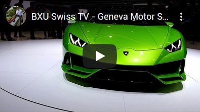 BXU Swiss TV - Geneva Motor Show 2019 / Part 3