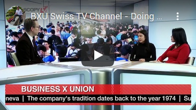 BXU Swiss TV - Doing Business In China