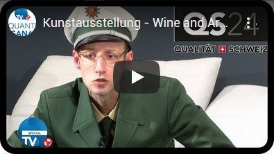 BXU Swiss TV - Wine and Art by Laura Chaplin! Hollywood Nacht im Möbel Märki, Special 25.12.2017