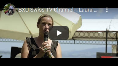 BXU Swiss TV - Laura Chaplin art exhibition in Vitznau